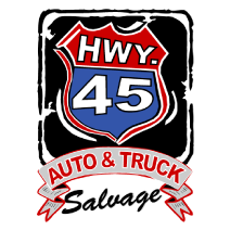 45 Auto and Truck Salvage logo